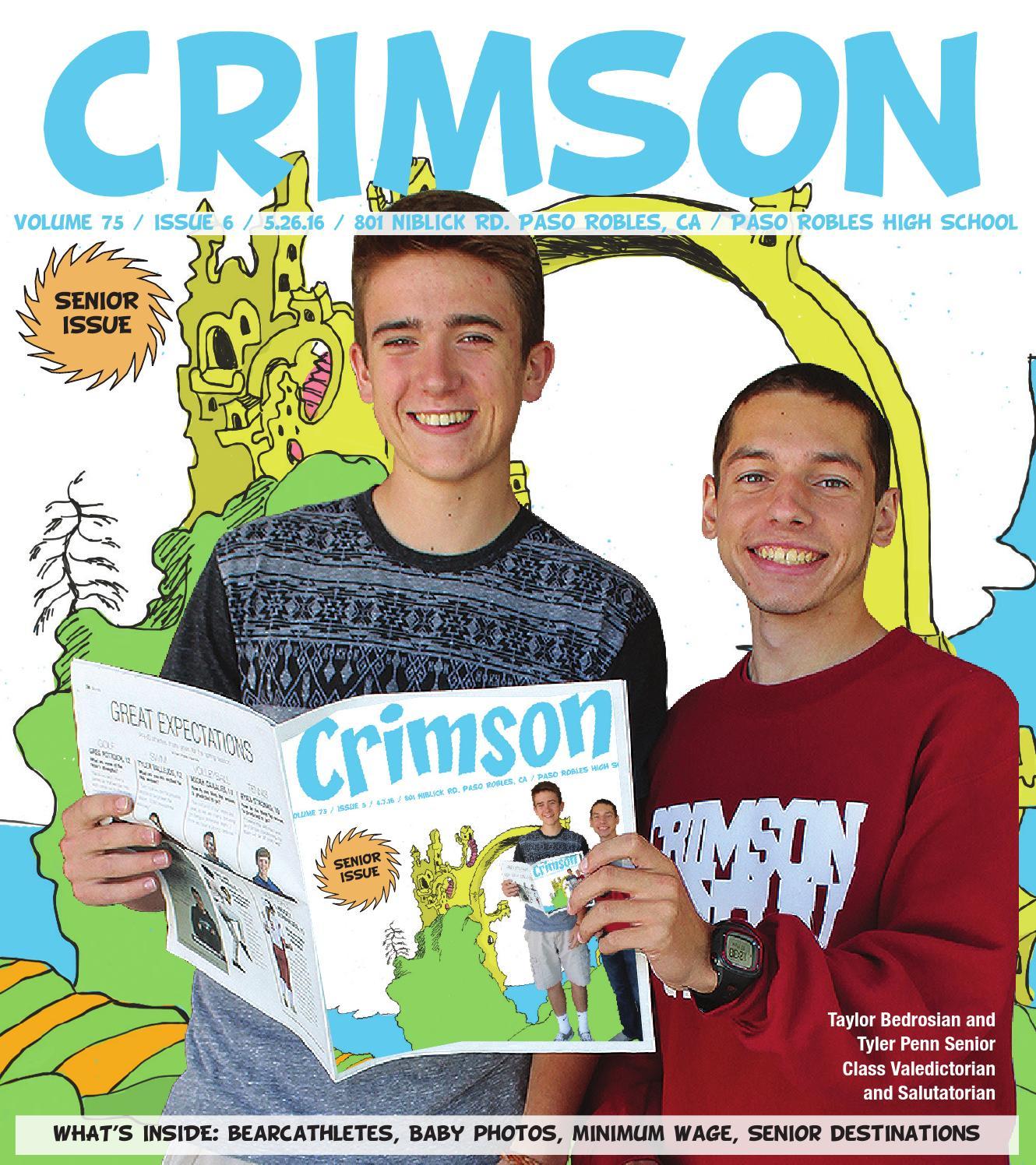 2016 May Issue by Crimson Newsmagazine - issuu