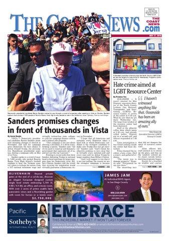 The Coast News May 27 2016 By Coast News Group Issuu