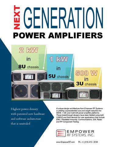 Next Generation Amplifier by Empower RF Systems - issuu