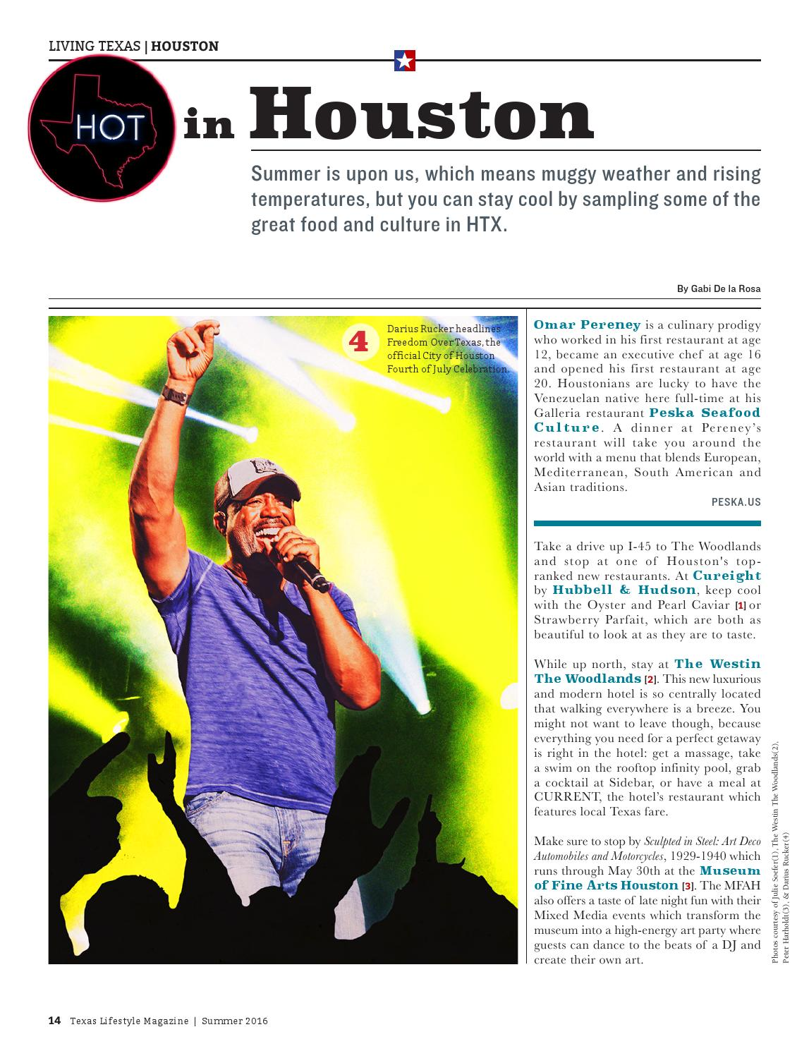 Texas Lifestyle Summer 2016 by Texas Lifestyle Magazine - issuu