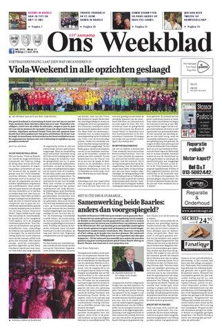 fdf0d305d06 Ons Weekblad 27-05-2016 by Uitgeverij Em de Jong - issuu