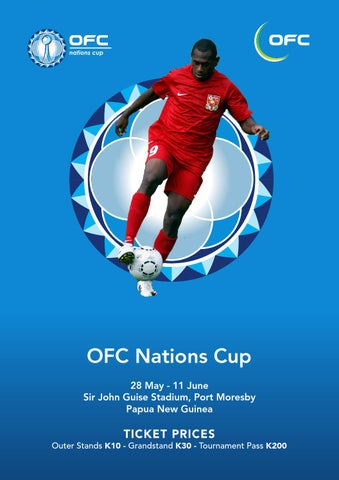 2016 Ofc Nations Cup Programme Oceania Football Confederation