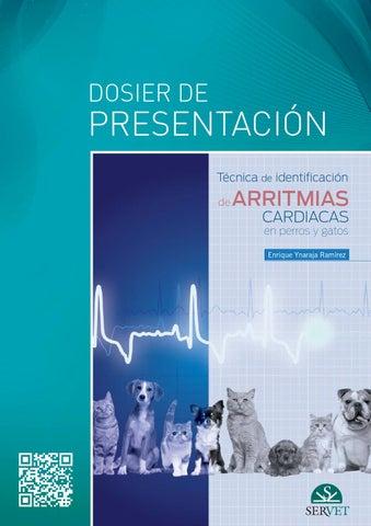 Técnica de identificación de arritmias cardiacas en perros y