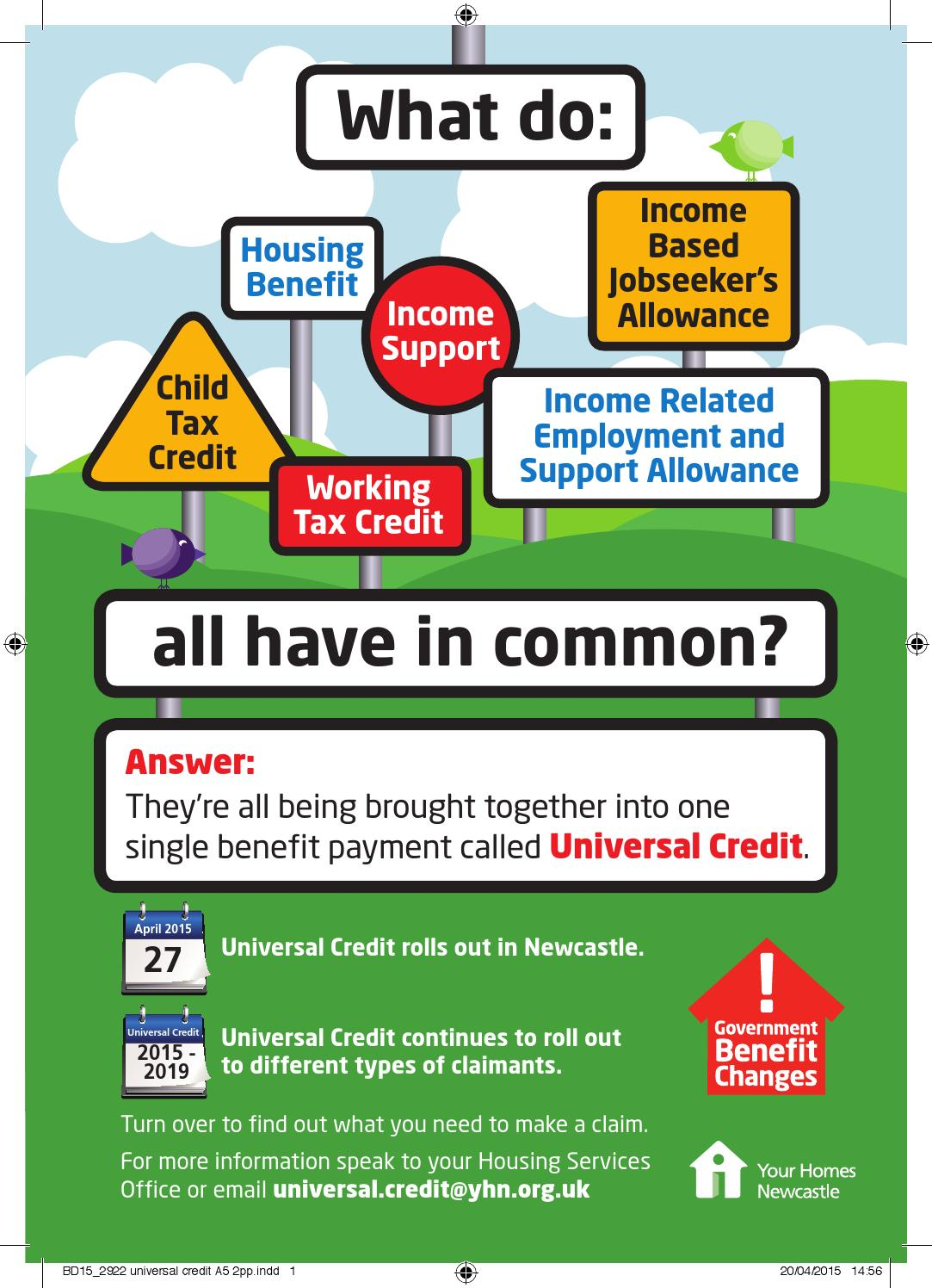 What You Need To Claim Universal Credit By Your Homes
