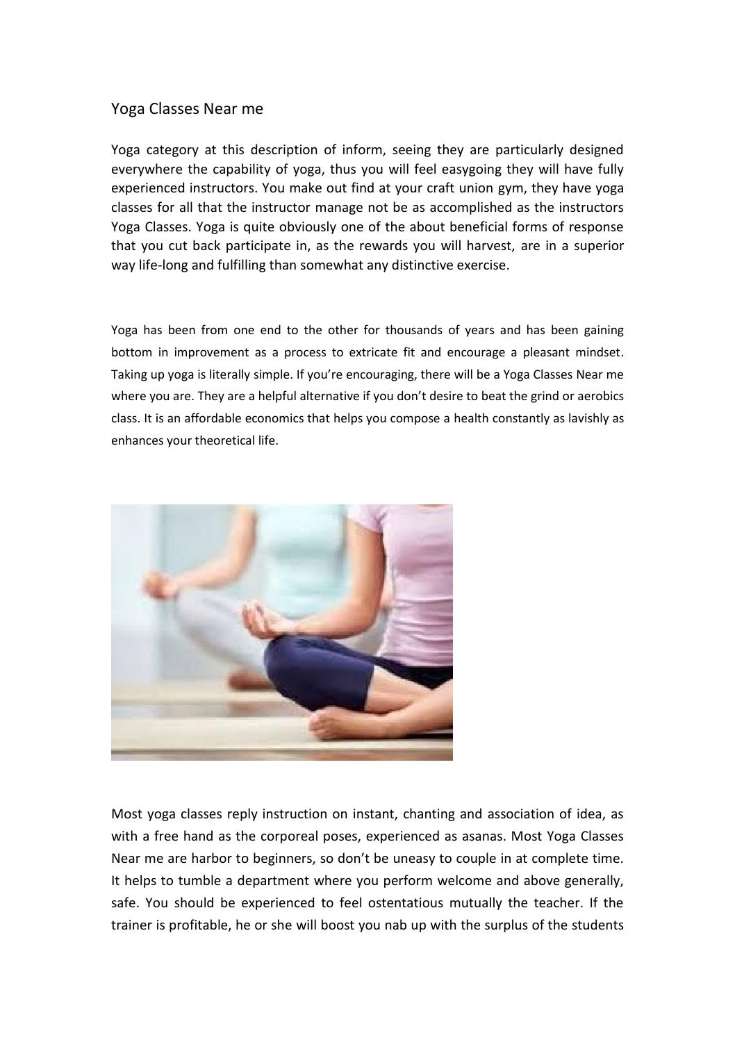 Yoga Classes Near Me By Afterglow Hot Yoga Issuu