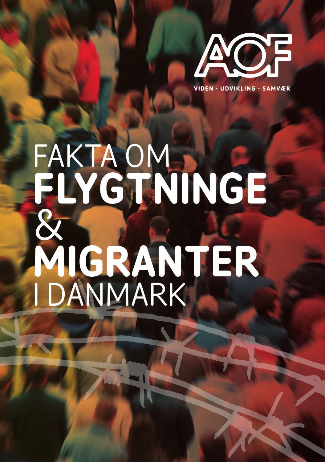 fakta om flygtninge - udgivet af AOF Danmark by TeR Døssing - Issuu