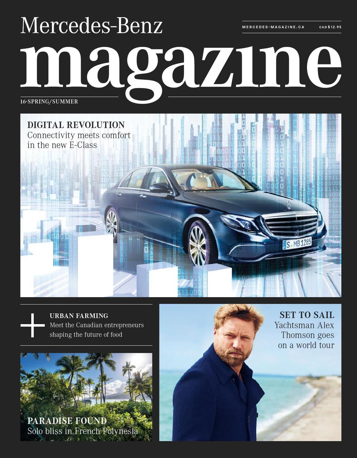 mercedes-benz magazine — spring/summer 2016spafax - issuu