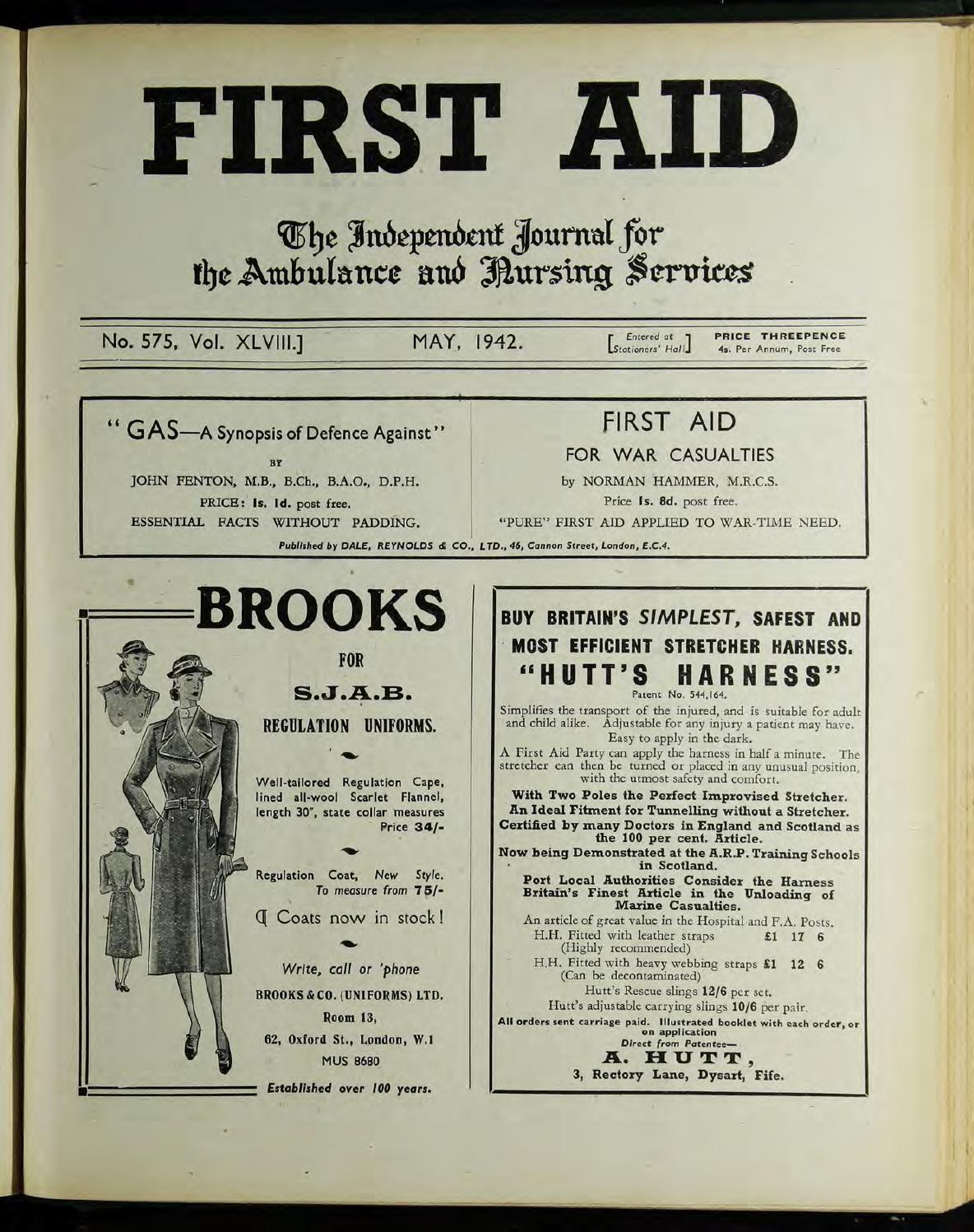 c5db81bc5e212 First Aid Journal 1942 - 1943 by Museum of the Order of St John - issuu
