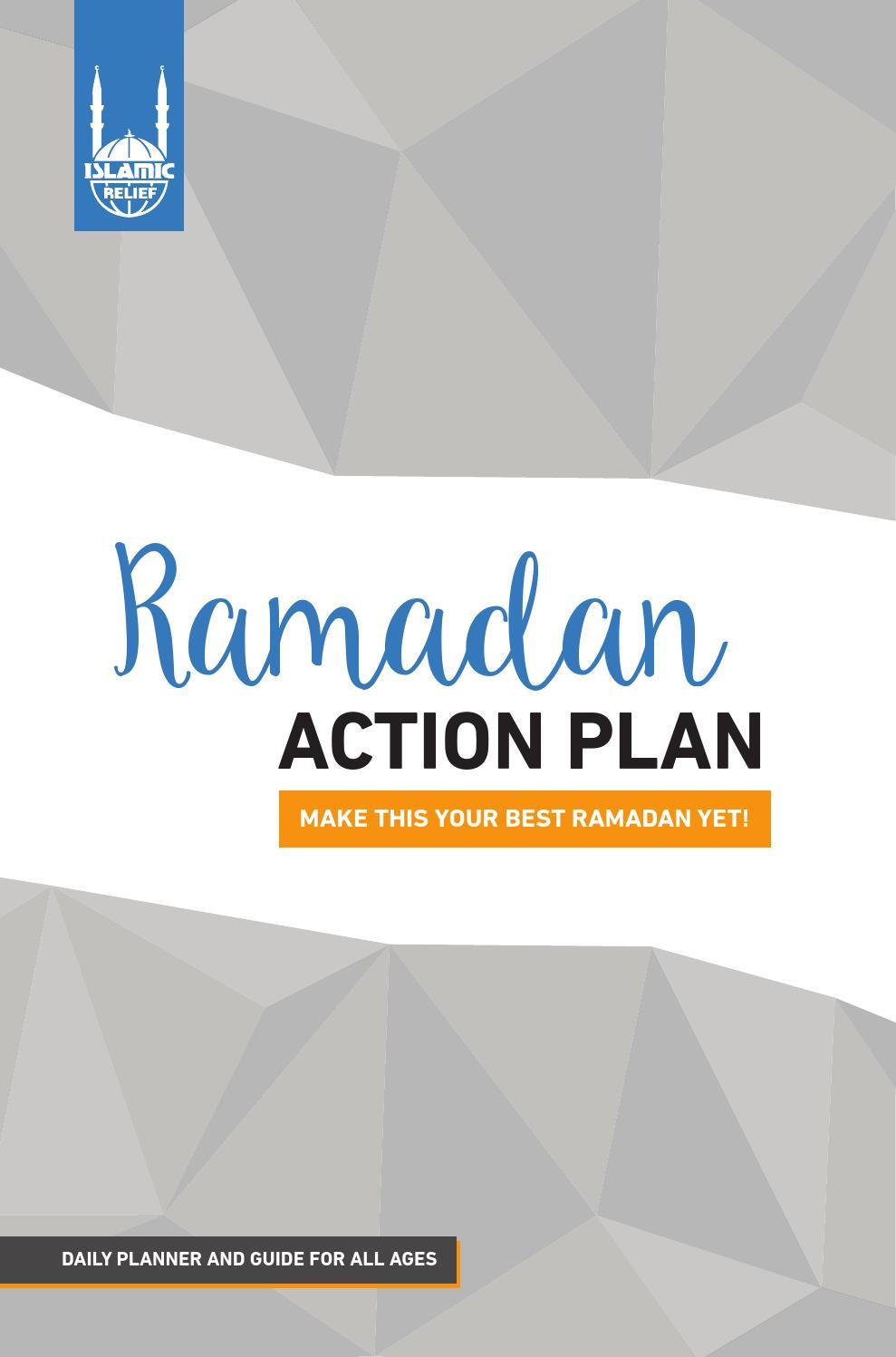 Ramadan Action Plan by Islamic Relief Canada - issuu