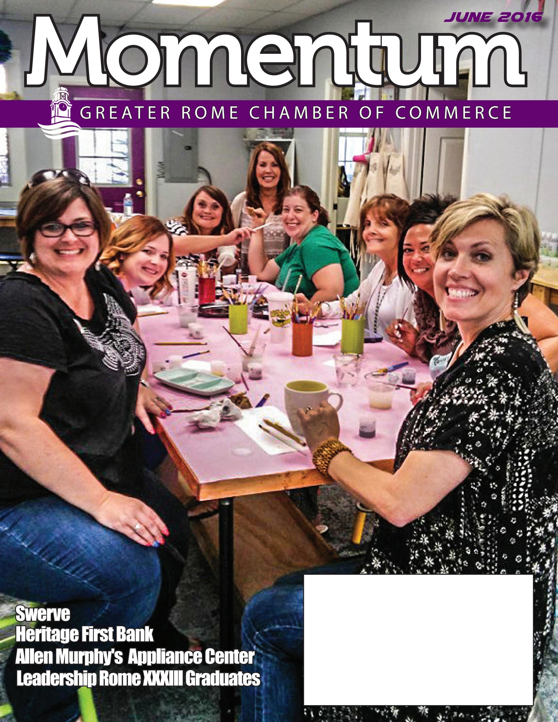 Good shepherd funeral home rome ga - June 2016 Momentum Magazine By Greater Rome Chamber Of Commerce Issuu
