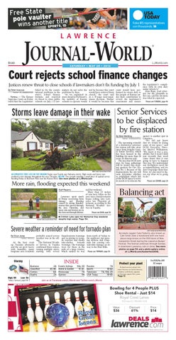 Lawrence Journal-World 05-28-2016