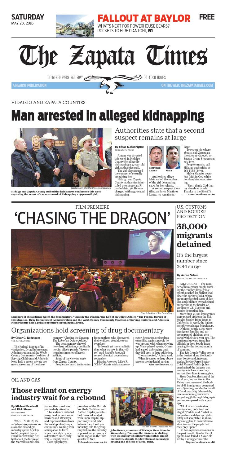 The Zapata Times 5/28/2016 by The Zapata Times - issuu