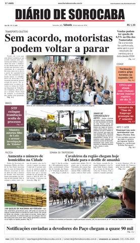 Edição de 28 de maio de 2016 by DIÁRIO DE SOROCABA - issuu 96b03f98c59a0