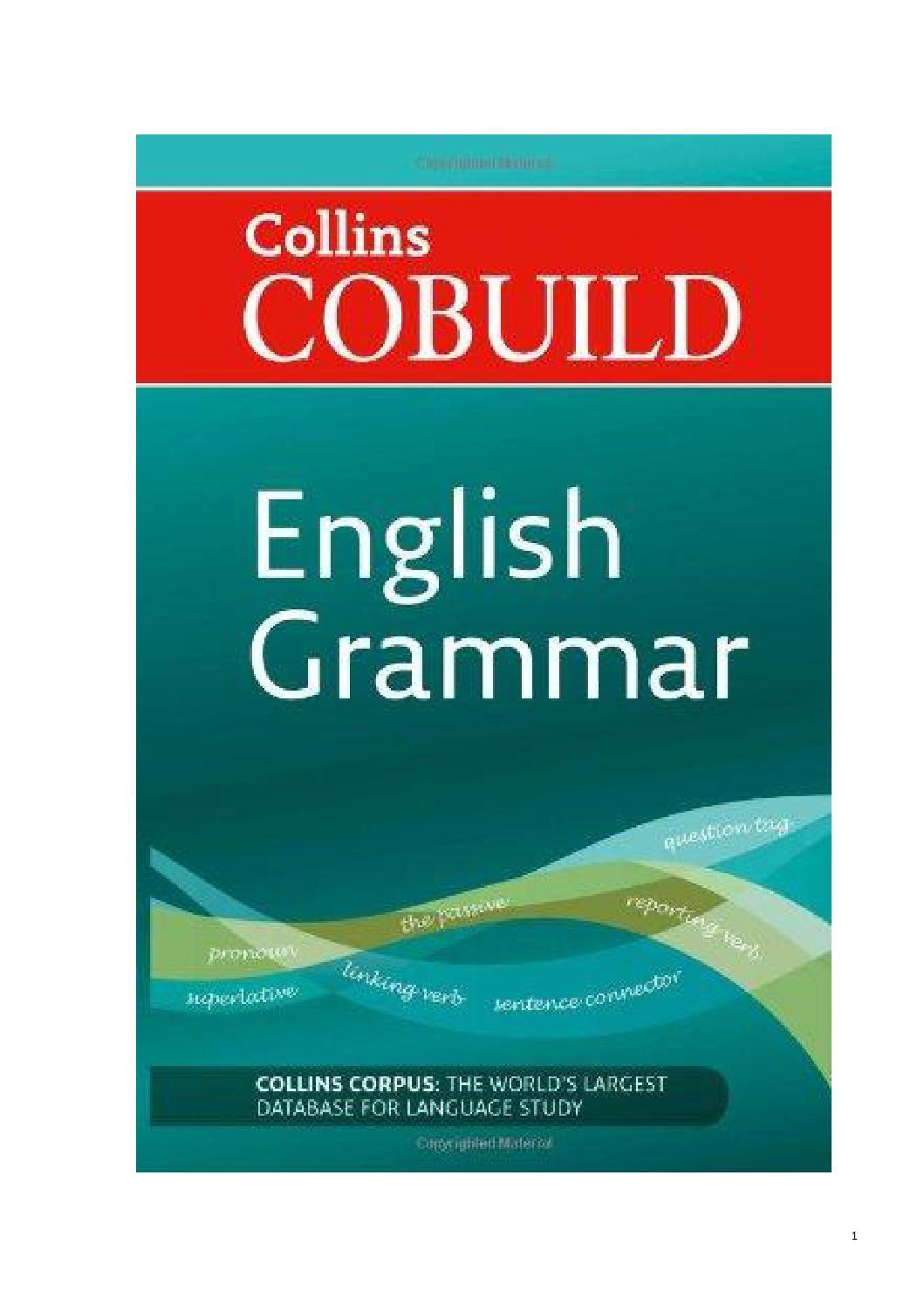 Collins cobuild english grammar by sallyf - issuu