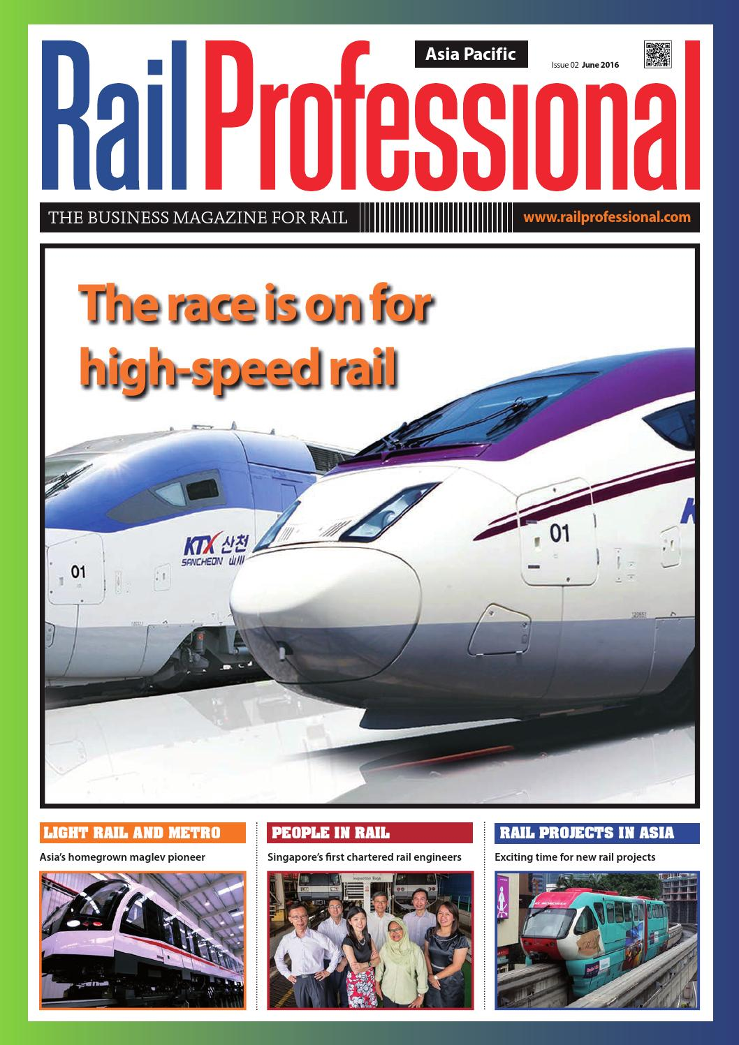 RAIL PROFESSIONAL ASIA PACIFIC - JUNE 2016 by Rail Professional
