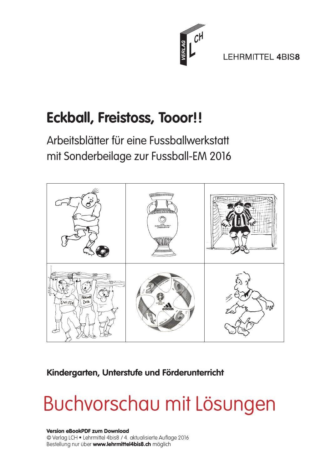 Eckball, Freistoss, Tooor!! by lehrmittel 4bis8 - issuu