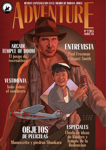 03b81c7618f Indymag issue 6 - The magazine for Indiana Jones fans by Junior ...
