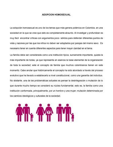 La adopcion homosexual statistics