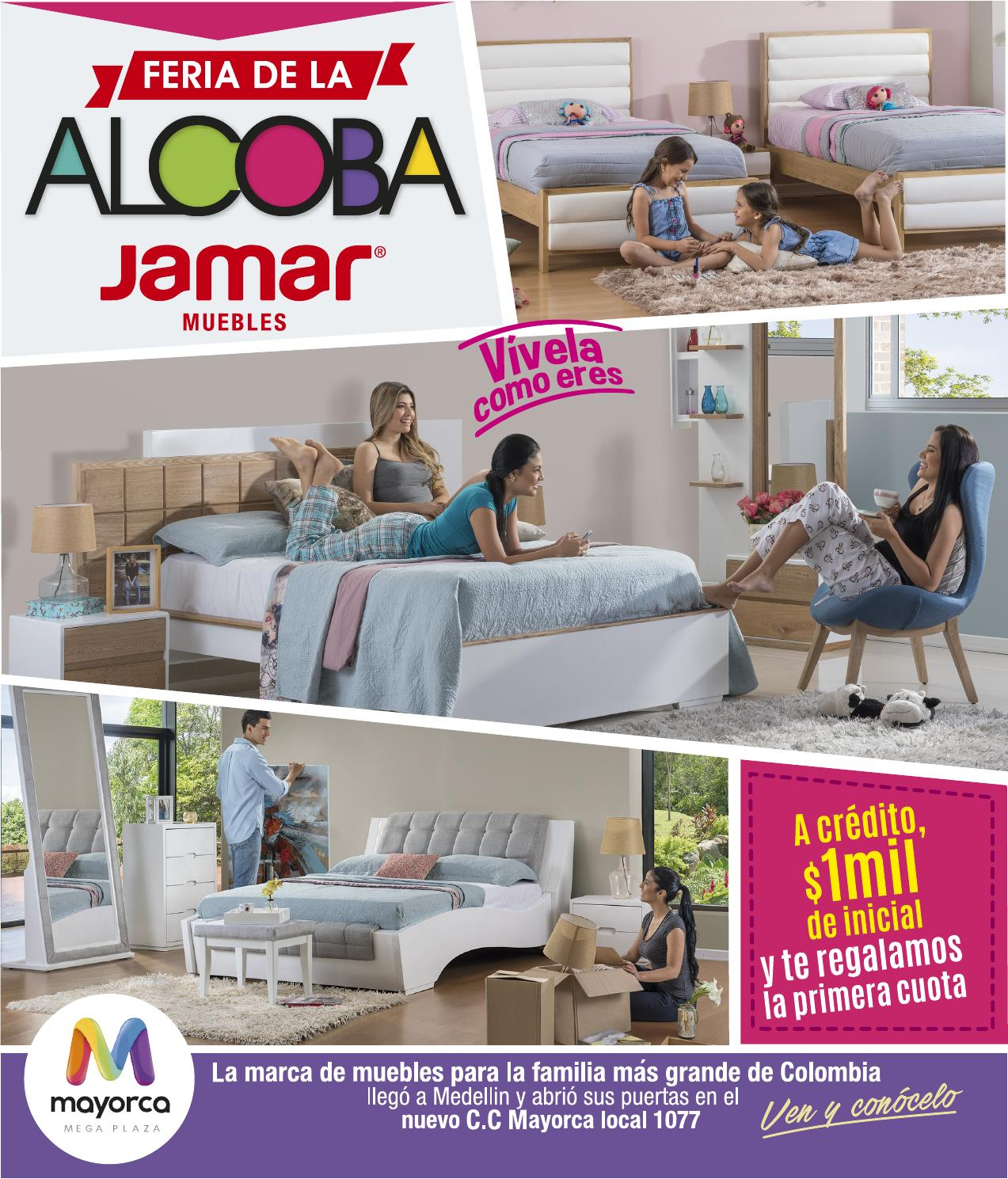 Cat Logo Feria De La Alcoba Jamar 2016 Medell N By Www Jamar Com  # Muebles Laalcoba