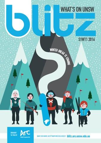 UNSW Blitz Magazine 2016: Issue 6 (S1W11) by Arc @ UNSW - issuu