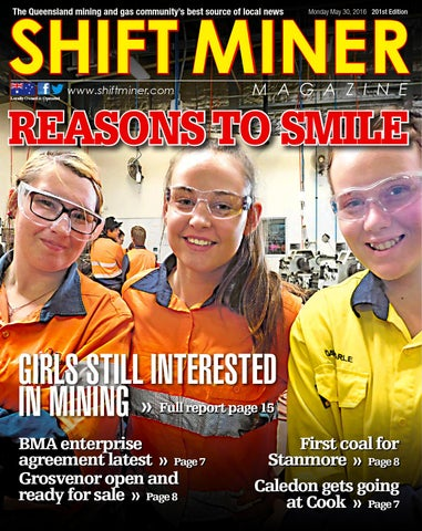 SHIFT MINER The Queensland mining and gas community's best source of local  news
