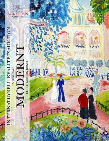Modern Sale 16 June 2016  Modern Art by Uppsala Auktionskammare - issuu bdeda91e04634