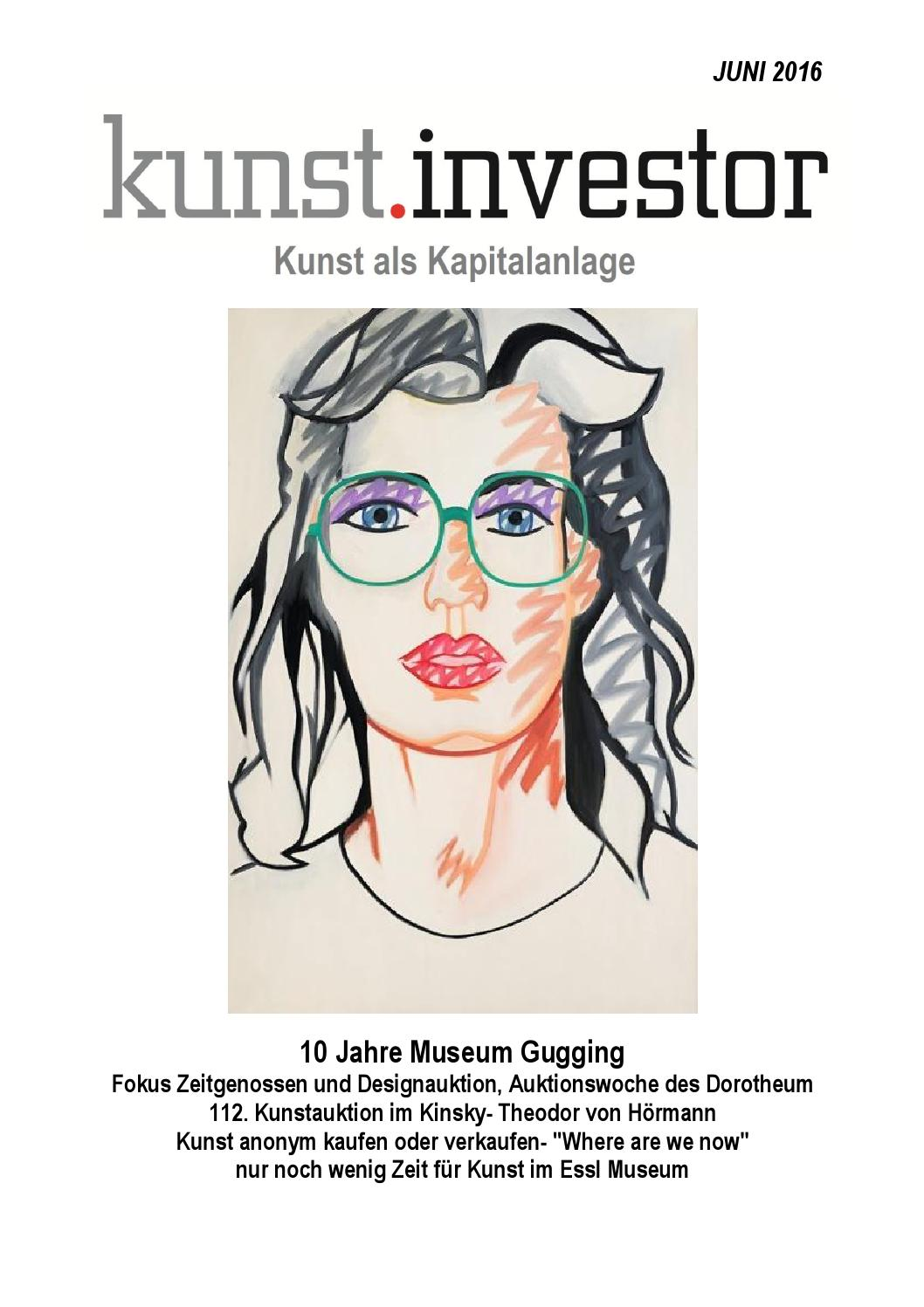 KUNSTINVESTOR JUNI 2016 by KUNSTMAGAZIN KUNSTINVESTOR - issuu