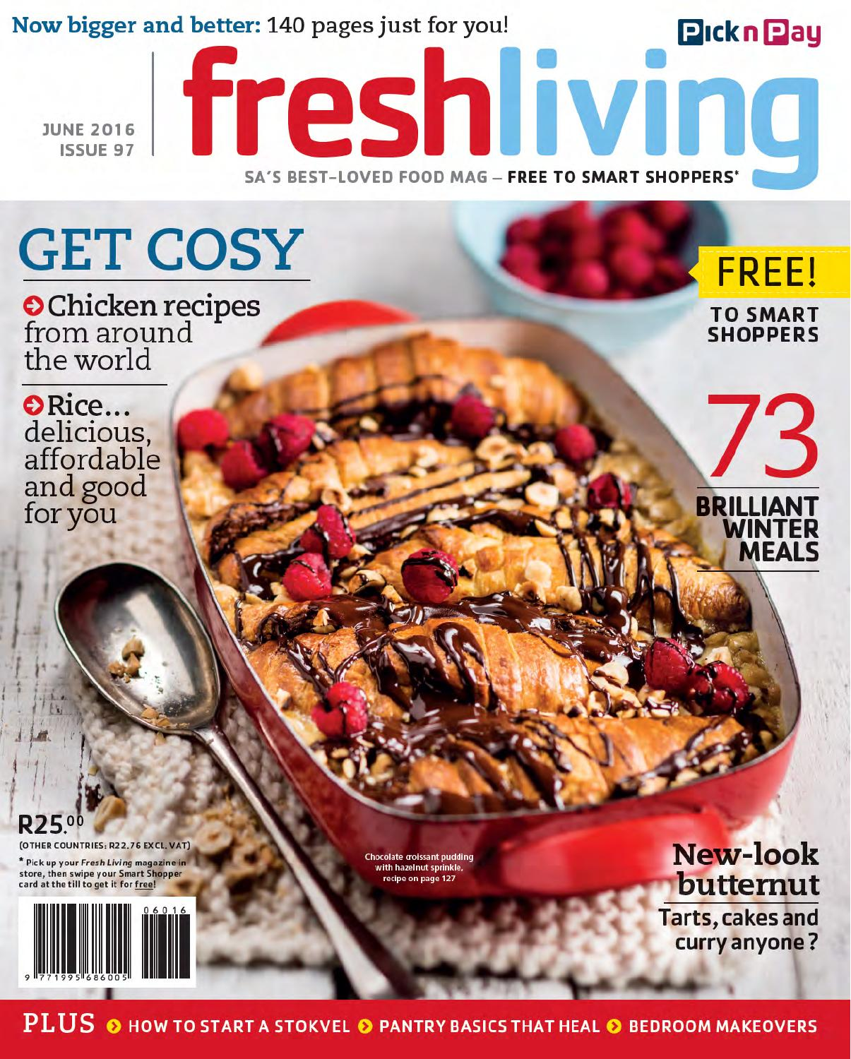 Fresh Living June July 2016 By Pick N Pay Issuu
