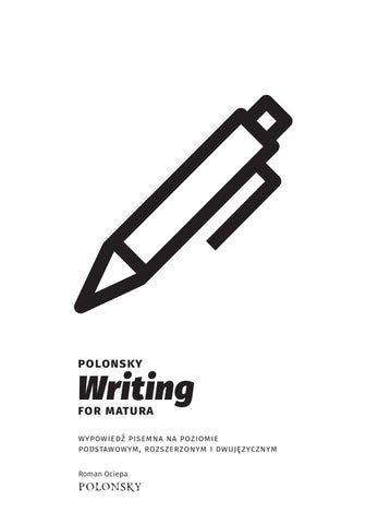 Polonsky Writing For Matura Sample Units By Polonsky Issuu