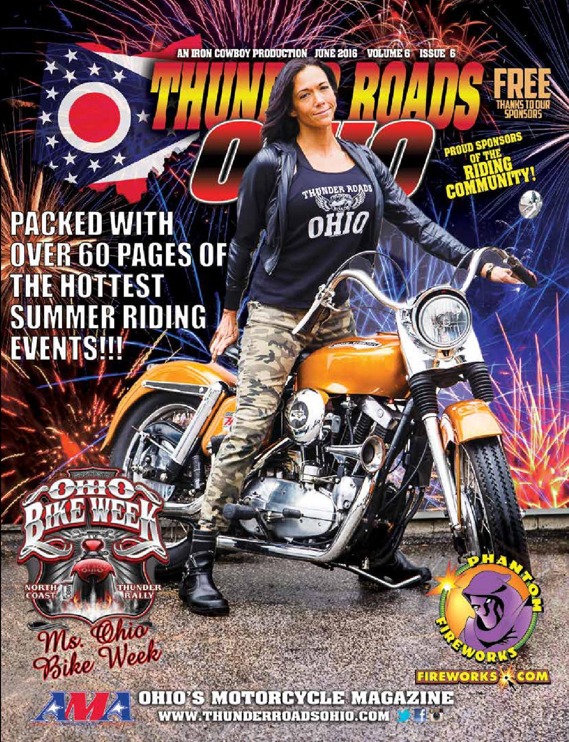 Thunder Roads Ohio June 2016 By Magazine Issuu Fisher Price Harley Davidson Ride On Tough Trike
