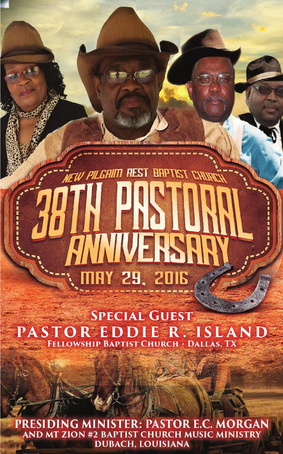 Union pastors anniversary program by herman dickey issuu pastor first lady banks anniversary program 2016 altavistaventures Images