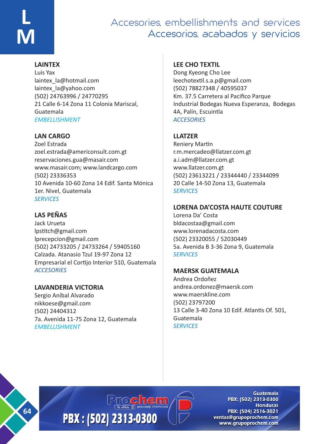 Directorio vestex 2016 by Bistrostudio - issuu