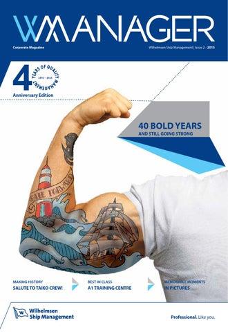 WManager Issue 2-2015 by Wilhelmsen Ship Management - issuu