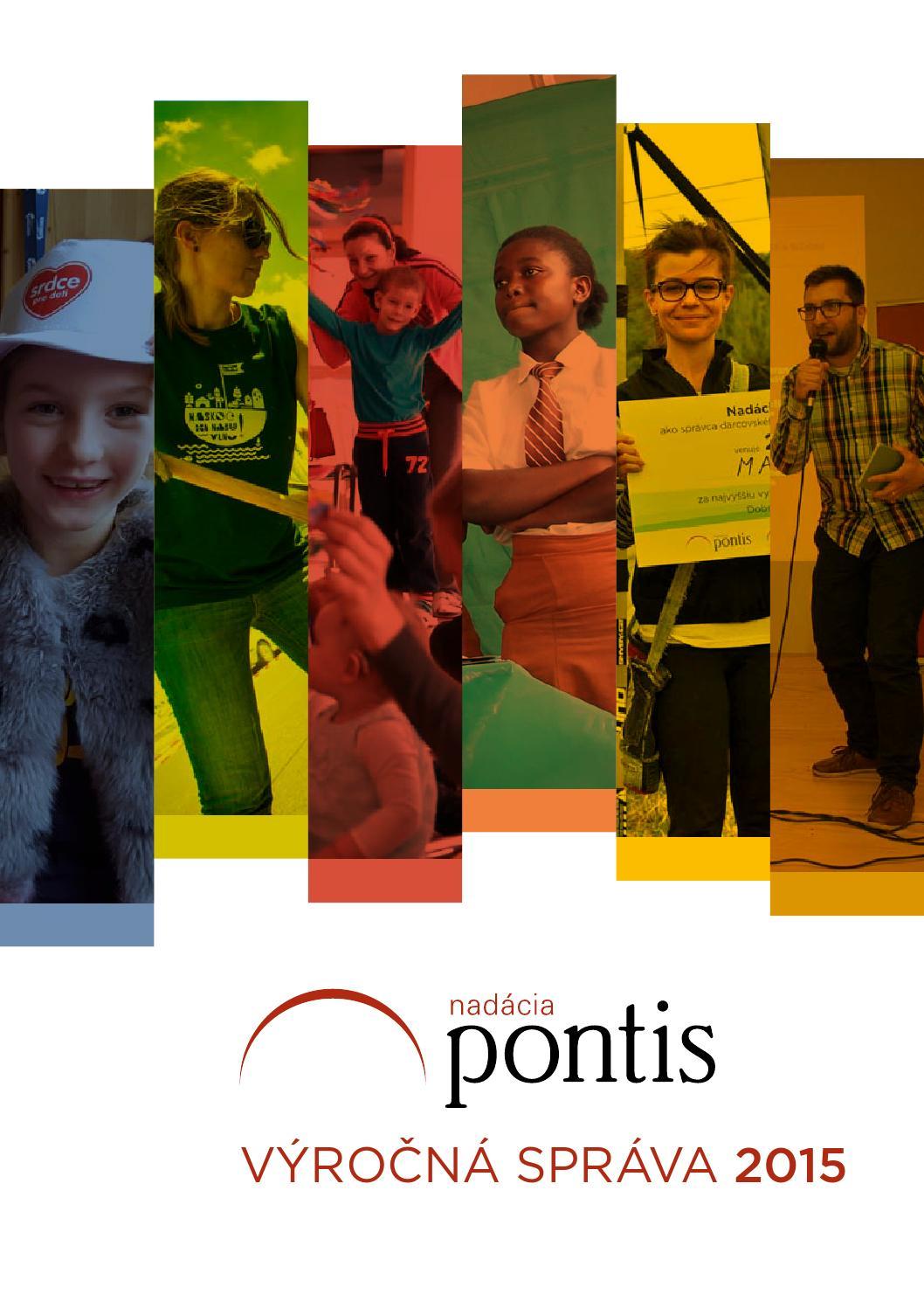 Výročná správa Nadácie Pontis za rok 2015 by Pontis Foundation - issuu b138144ab97