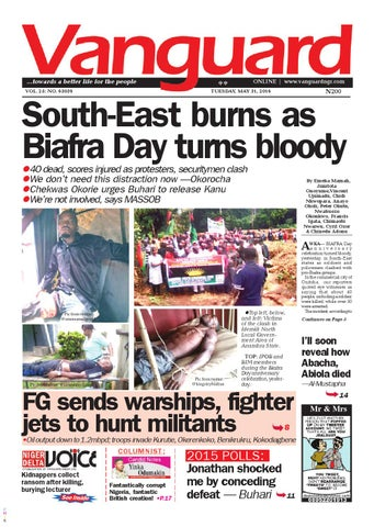South-East burns as Biafra Day turns bloody