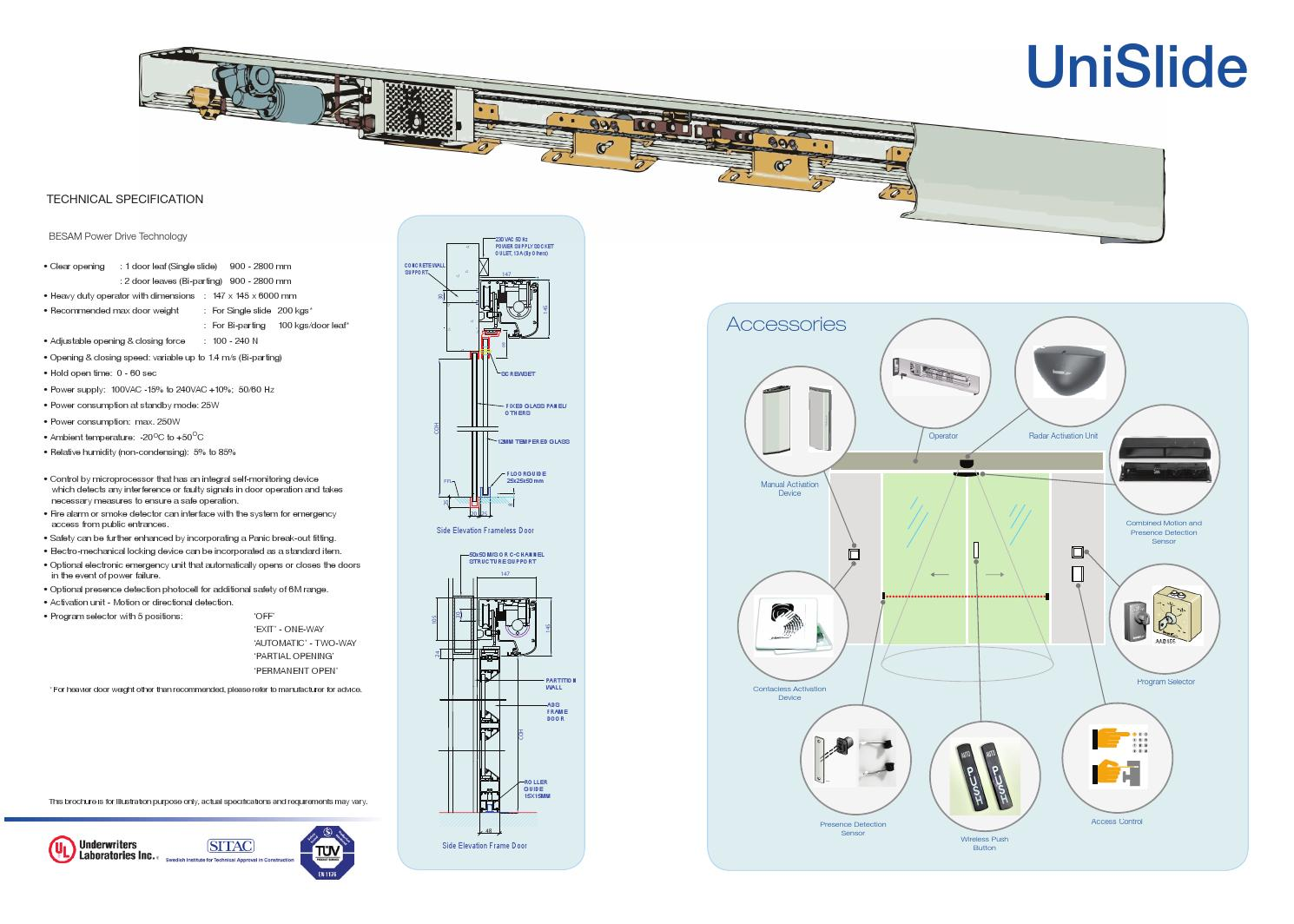 Wiring Diagram Besam 200i Jackson Diagrams Mitsubishi Securitron Unislide By Euronord Issuu On