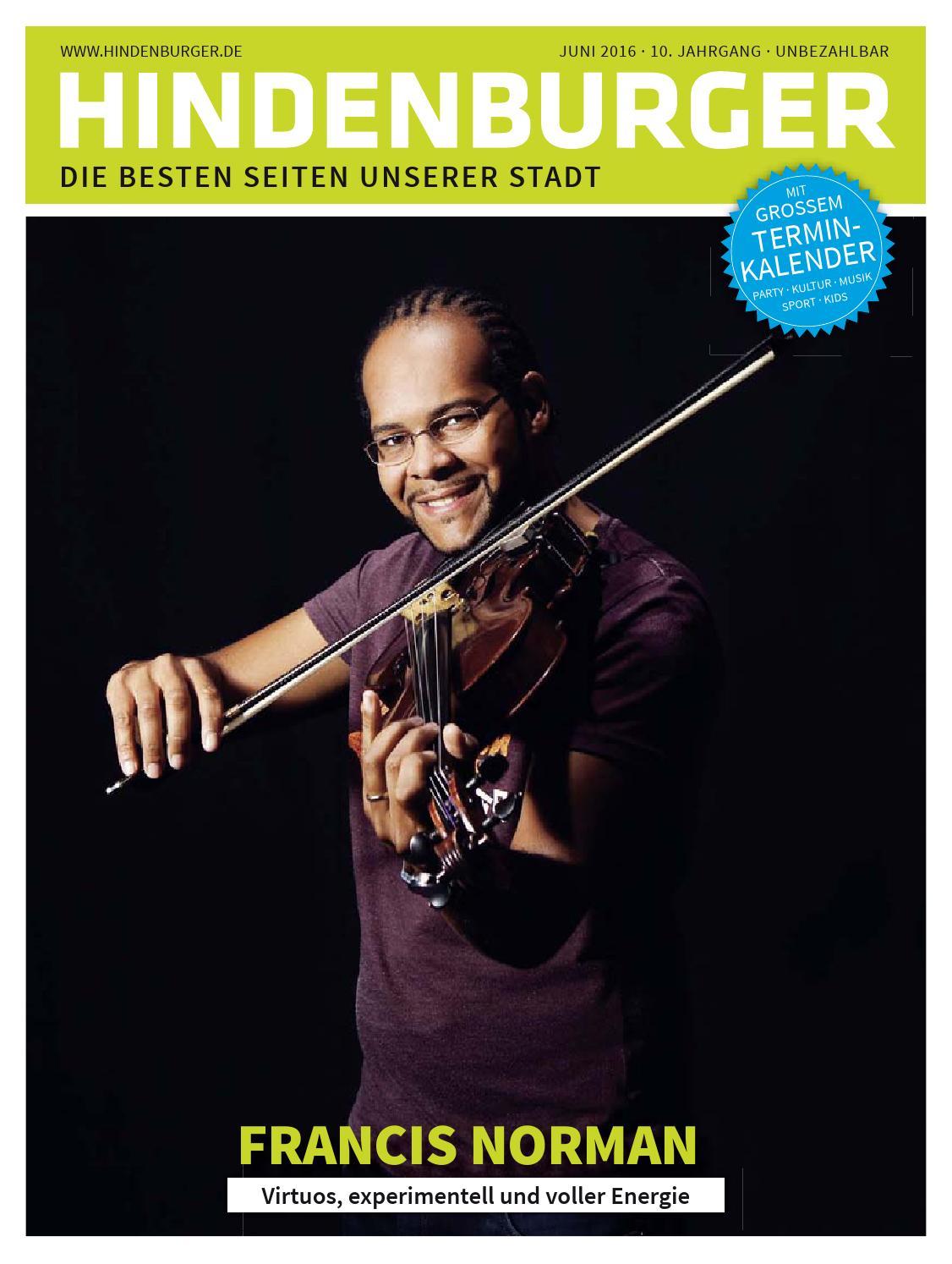 Hindenburger Ausgabe Juni 2016 by hindenburger-stadtmagazin - issuu