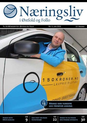 3dfe73f4 Næringsliv i Østfold og Follo - juni 2016 by Viken Media AS - issuu