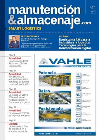7a04e5ae9f1 Manutención y Almacenaje - nº 514 by Versys Ediciones Técnicas, S.L. ...