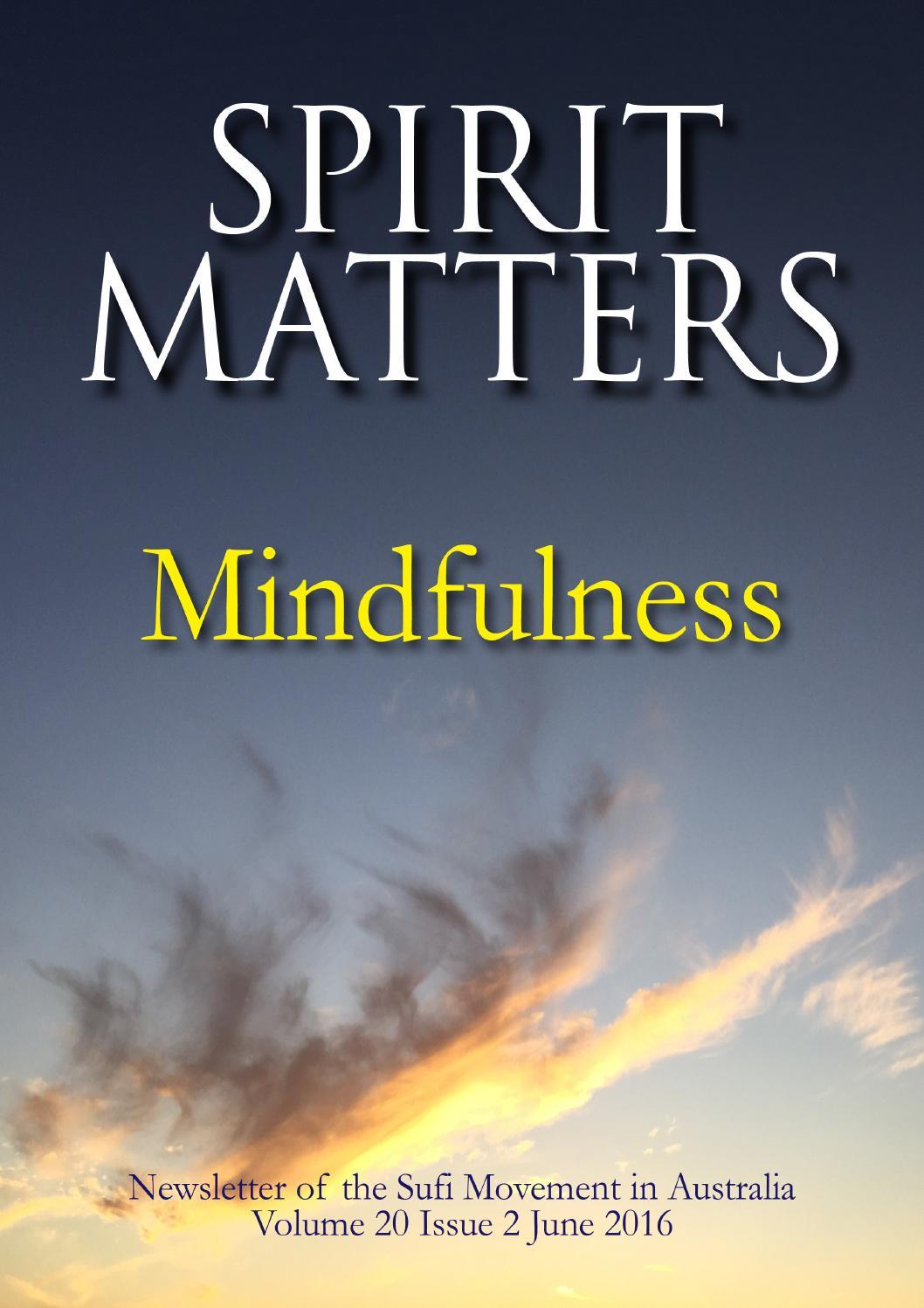 Spirit Matters June 2016 by International Sufi Movement in