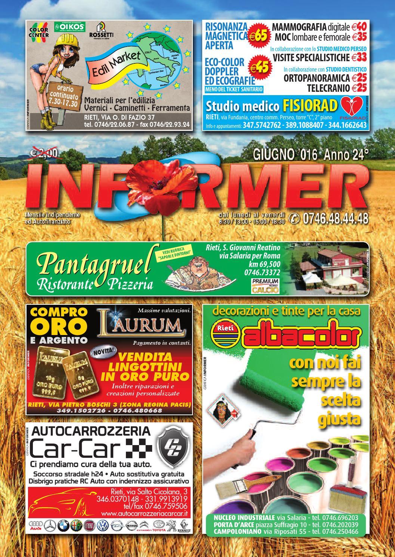 INFORMER giugno 2016 by informer - issuu ef7eac7c91d7