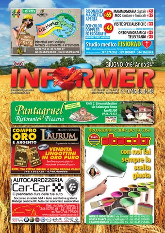 INFORMER giugno 2016 by informer - issuu 735979c60dc
