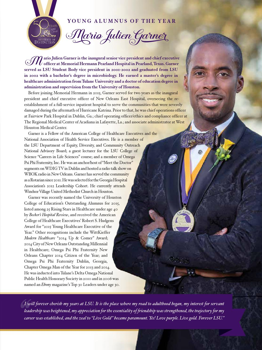 Summer 2016 volume 92 number 2 by lsu alumni association - Ethics and compliance officer association ...
