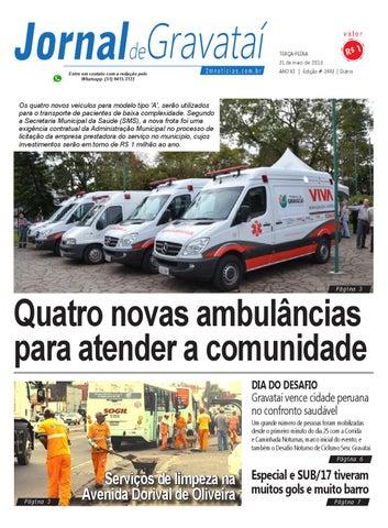0792af45642 Jornal de Gravataí. Terça-feira