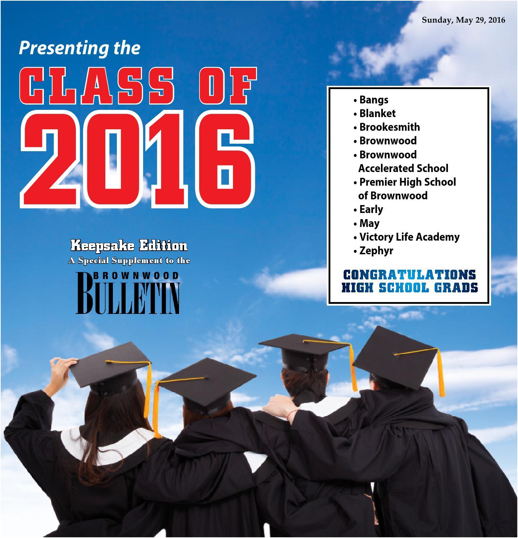 Grad 2016 By Gatehouse Southwest Issuu