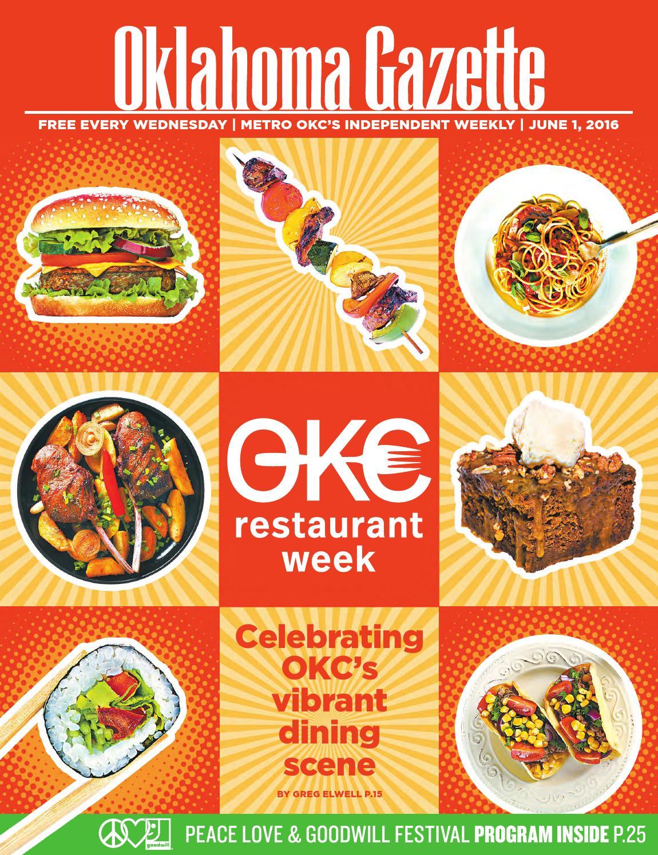 OKC Restaurant Week by Oklahoma Gazette - issuu