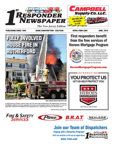1st responder new jersey june edition by belsito