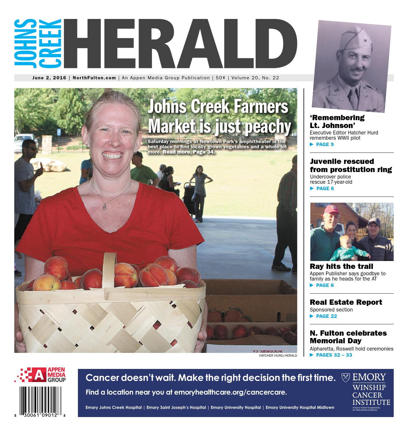 Johns Creek Herald June 2 2016 By Appen Media Group Issuu