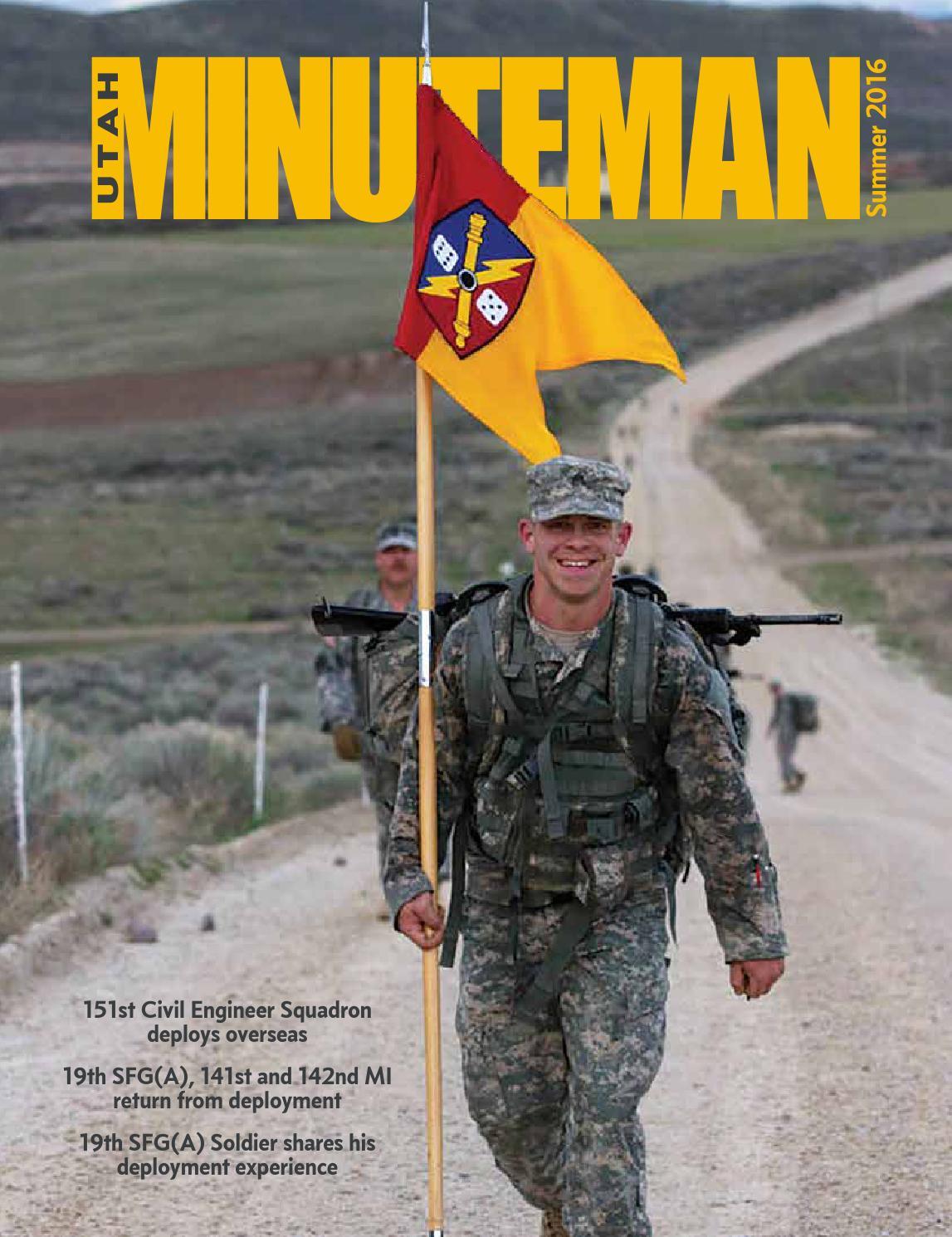 Utah Minuteman 2016 Summer by UTNG PAO - issuu