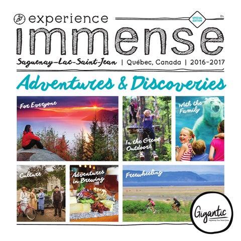 Saguenay Lac Saint Jean Official Tourist Guide   2017 Edition By Tourisme  Saguenay Lac Saint Jean Tourism   Issuu